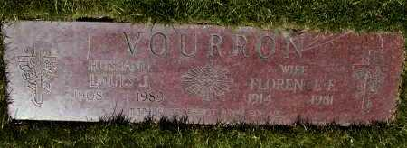VOURRON, LOUIS J. - Geauga County, Ohio | LOUIS J. VOURRON - Ohio Gravestone Photos