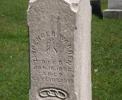 WARREN, SPENCER - Geauga County, Ohio | SPENCER WARREN - Ohio Gravestone Photos