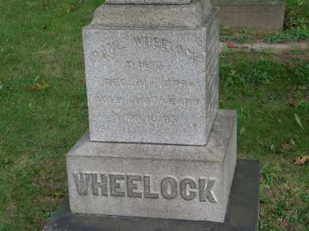 WHEELOCK, DANL. - Geauga County, Ohio | DANL. WHEELOCK - Ohio Gravestone Photos