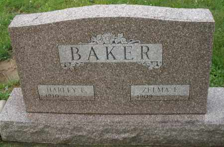 SCOTT BAKER, ZELMA E. - Greene County, Ohio | ZELMA E. SCOTT BAKER - Ohio Gravestone Photos