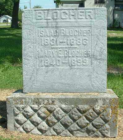 BLOCHER, MARY E. - Greene County, Ohio   MARY E. BLOCHER - Ohio Gravestone Photos