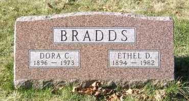 BRADDS, ETHEL D. - Greene County, Ohio | ETHEL D. BRADDS - Ohio Gravestone Photos