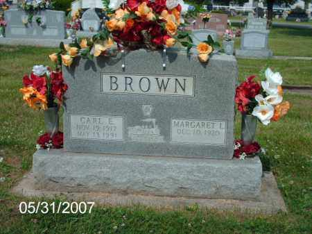 PARKER BROWN, MARGARET L. - Greene County, Ohio | MARGARET L. PARKER BROWN - Ohio Gravestone Photos