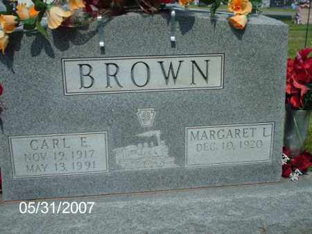 BROWN, CARL  EASLEY - Greene County, Ohio | CARL  EASLEY BROWN - Ohio Gravestone Photos