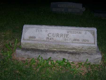 CURRIE, EVA - Greene County, Ohio | EVA CURRIE - Ohio Gravestone Photos