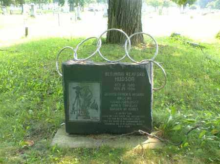 HUDSON, BENJAMIN - Greene County, Ohio | BENJAMIN HUDSON - Ohio Gravestone Photos