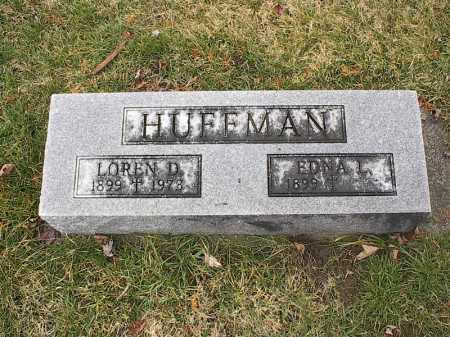 HUFFMAN, LOREN - Greene County, Ohio | LOREN HUFFMAN - Ohio Gravestone Photos