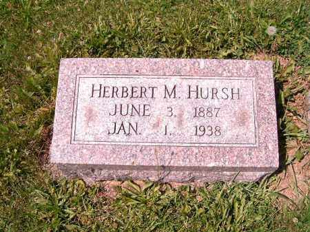 HURSH, HERBERT  M - Greene County, Ohio | HERBERT  M HURSH - Ohio Gravestone Photos