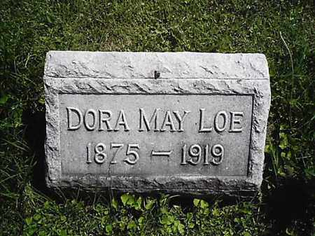 LOE, DORA  MAY - Greene County, Ohio | DORA  MAY LOE - Ohio Gravestone Photos