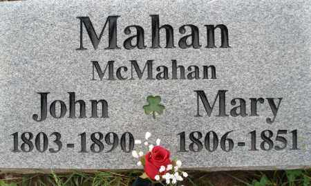 MAHAN/MAHAN, MARY - Greene County, Ohio | MARY MAHAN/MAHAN - Ohio Gravestone Photos