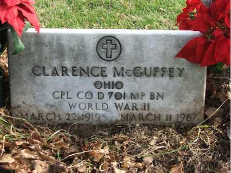 MCGUFFEY, CLARENCE - Greene County, Ohio | CLARENCE MCGUFFEY - Ohio Gravestone Photos