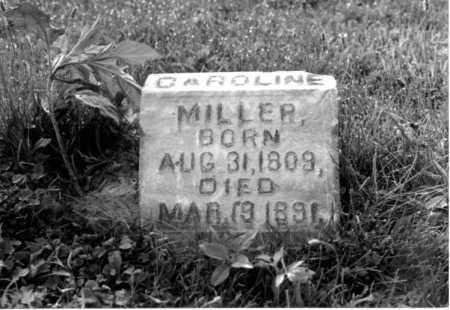 WILSON MILLER, CAROLINE - Greene County, Ohio | CAROLINE WILSON MILLER - Ohio Gravestone Photos