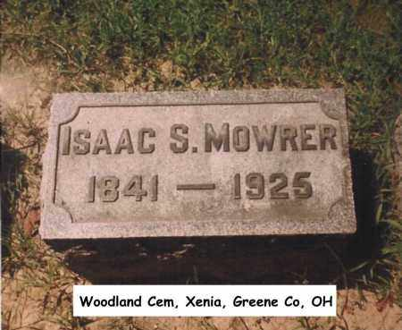 MOWRER, ISAAC - Greene County, Ohio | ISAAC MOWRER - Ohio Gravestone Photos