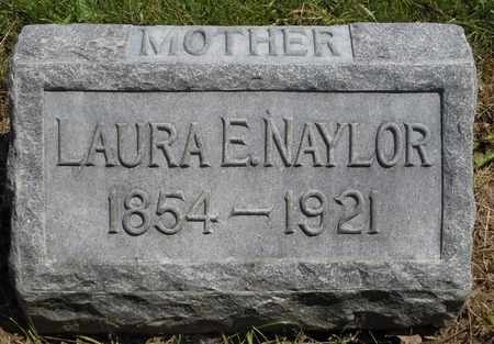 NANCE NAYLOR, LAURA ELLEN - Greene County, Ohio | LAURA ELLEN NANCE NAYLOR - Ohio Gravestone Photos