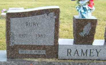 RAMEY, RUBY - Greene County, Ohio | RUBY RAMEY - Ohio Gravestone Photos