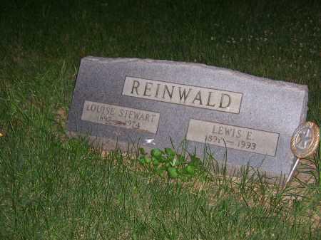 STEWART REINWALD, LOUISE - Greene County, Ohio | LOUISE STEWART REINWALD - Ohio Gravestone Photos