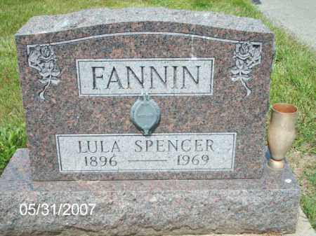 SPENCER / FANNIN, LULA - Greene County, Ohio | LULA SPENCER / FANNIN - Ohio Gravestone Photos