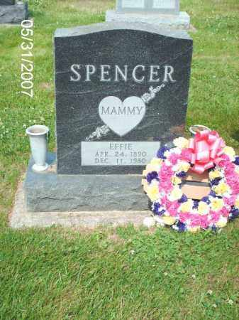 KEATON SPENCER, EFFIE - Greene County, Ohio | EFFIE KEATON SPENCER - Ohio Gravestone Photos