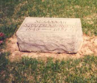 STOUTENBURGER, SUSANNAH - Greene County, Ohio | SUSANNAH STOUTENBURGER - Ohio Gravestone Photos
