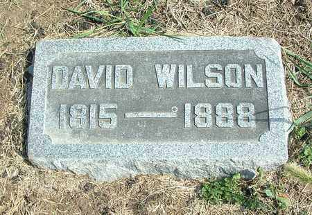 WILSON, DAVID - Greene County, Ohio | DAVID WILSON - Ohio Gravestone Photos