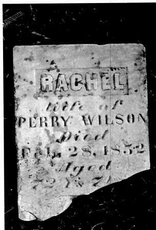 THOMAS WILSON, RACHEL - Greene County, Ohio | RACHEL THOMAS WILSON - Ohio Gravestone Photos