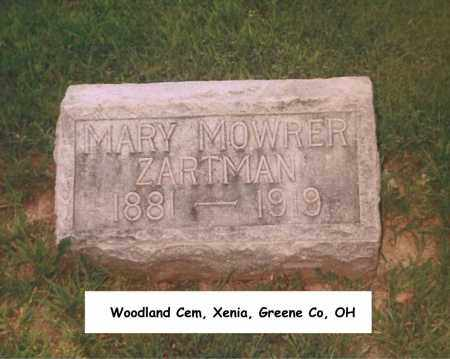 ZARTMAN, MARY - Greene County, Ohio | MARY ZARTMAN - Ohio Gravestone Photos
