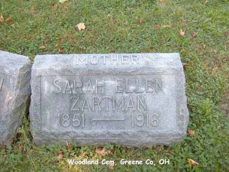 ZARTMAN, SARAH - Greene County, Ohio | SARAH ZARTMAN - Ohio Gravestone Photos