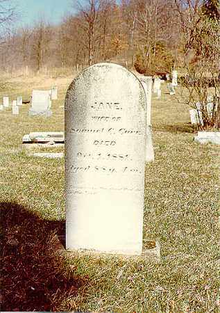 SCOTT CARR, JANE - Guernsey County, Ohio | JANE SCOTT CARR - Ohio Gravestone Photos