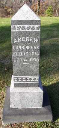 CUNNINGHAM, ANDREW - Guernsey County, Ohio | ANDREW CUNNINGHAM - Ohio Gravestone Photos