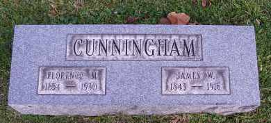 CUNNINGHAM, JAMES WORK - Guernsey County, Ohio | JAMES WORK CUNNINGHAM - Ohio Gravestone Photos