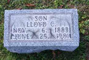 CUNNINGHAM, LLOYD C - Guernsey County, Ohio | LLOYD C CUNNINGHAM - Ohio Gravestone Photos