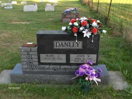 DANLEY, MARY J - Guernsey County, Ohio | MARY J DANLEY - Ohio Gravestone Photos