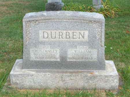 DURBEN, IDA - Guernsey County, Ohio | IDA DURBEN - Ohio Gravestone Photos