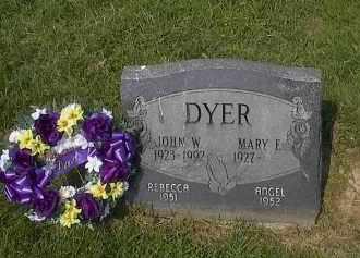 DYER, JOHN - Guernsey County, Ohio   JOHN DYER - Ohio Gravestone Photos