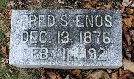 ENOS, FRED S. - Guernsey County, Ohio | FRED S. ENOS - Ohio Gravestone Photos