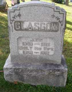 GLASGOW, JOHN - Guernsey County, Ohio | JOHN GLASGOW - Ohio Gravestone Photos