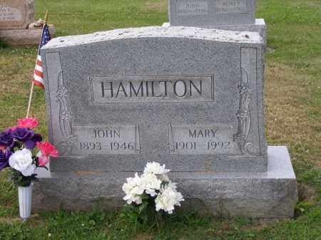 HAMILTON, MARY - Guernsey County, Ohio | MARY HAMILTON - Ohio Gravestone Photos