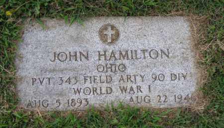 HAMILTON, JOHN IRVING - Guernsey County, Ohio | JOHN IRVING HAMILTON - Ohio Gravestone Photos