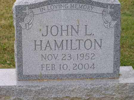 HAMILTON, JOHN LEWIS - Guernsey County, Ohio | JOHN LEWIS HAMILTON - Ohio Gravestone Photos