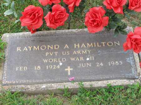 A HAMILTON, RAYMOND - Guernsey County, Ohio | RAYMOND A HAMILTON - Ohio Gravestone Photos