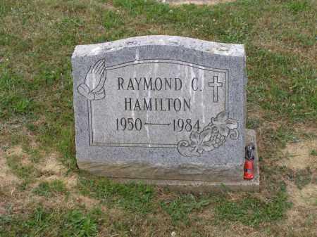 HAMILTON, RAYMOND C. - Guernsey County, Ohio | RAYMOND C. HAMILTON - Ohio Gravestone Photos