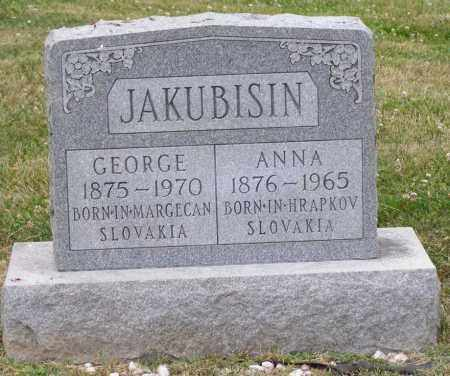 JAKUBISIN, GEORGE - Guernsey County, Ohio | GEORGE JAKUBISIN - Ohio Gravestone Photos