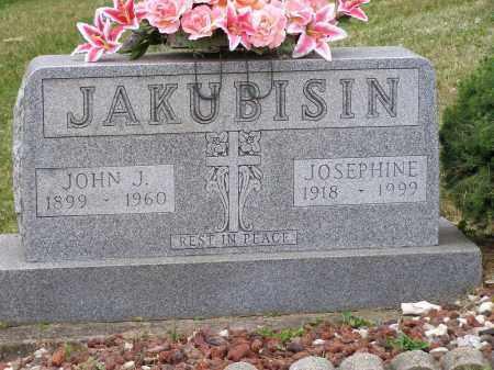 JAKUBISIN, JOHN J. - Guernsey County, Ohio | JOHN J. JAKUBISIN - Ohio Gravestone Photos