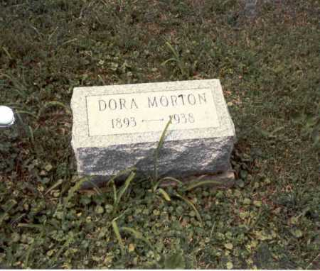 MORTON, DORA - Guernsey County, Ohio | DORA MORTON - Ohio Gravestone Photos