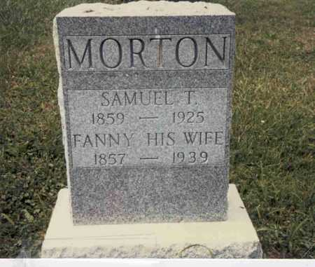 MORTON, SAMUEL T. - Guernsey County, Ohio | SAMUEL T. MORTON - Ohio Gravestone Photos
