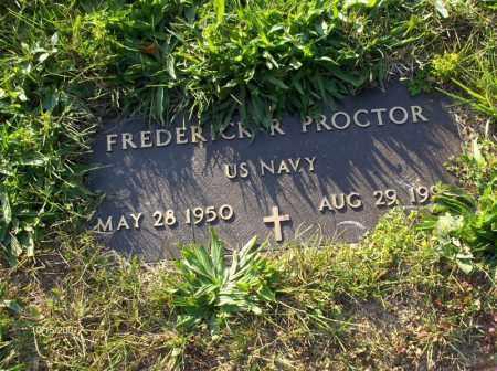 PROCTOR, FREDERICK  R - Guernsey County, Ohio | FREDERICK  R PROCTOR - Ohio Gravestone Photos