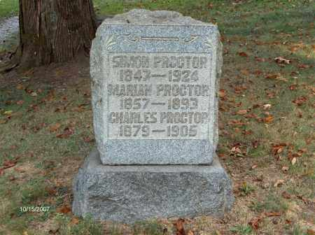 PROCTOR, CHARLES - Guernsey County, Ohio | CHARLES PROCTOR - Ohio Gravestone Photos