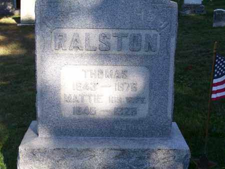 RALSTON, MARTHA JANE - Guernsey County, Ohio | MARTHA JANE RALSTON - Ohio Gravestone Photos