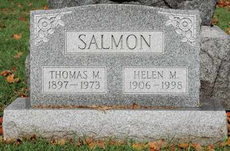 SALMON, THOMAS M. - Guernsey County, Ohio | THOMAS M. SALMON - Ohio Gravestone Photos