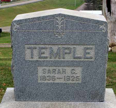 TEMPLE, SARAH C. - Guernsey County, Ohio | SARAH C. TEMPLE - Ohio Gravestone Photos